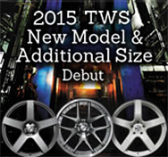 2015 TWS New Model �� Additional Size Debut