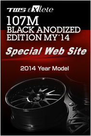 TWS EXlete 107M BLACK ANODIZED EDITION MY'14 Special Web Site 2014 Year Model